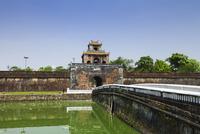 阮朝王宮の外堀と対仁門