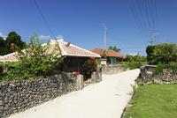 竹富島の集落 01072024125| 写真素材・ストックフォト・画像・イラスト素材|アマナイメージズ