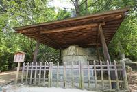 道後公園の石造湯釜