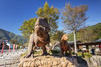 道の駅九頭竜の恐竜モニュメント