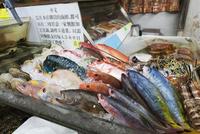 牧志公設市場の鮮魚店 01072027161| 写真素材・ストックフォト・画像・イラスト素材|アマナイメージズ
