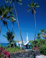 セント・ピータース教会   ハワイ 01075008144| 写真素材・ストックフォト・画像・イラスト素材|アマナイメージズ