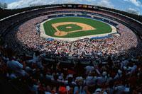 スタジアムと群集 アトランタ アメリカ