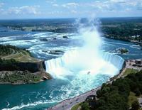スカイロンタワーよりナイアガラ大瀑布 カナダ