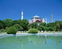 アヤソフィア  イスタンブール トルコ