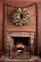 暖炉 01142004028| 写真素材・ストックフォト・画像・イラスト素材|アマナイメージズ