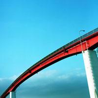 海岸公園の歩道橋