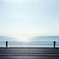 国道134号線と湘南の海