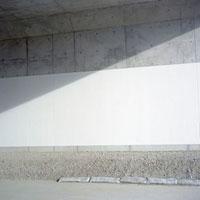 新設トンネルに入る日射し