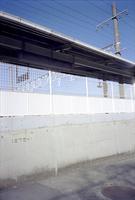 JR金谷駅ホーム裏