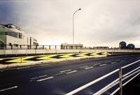夕暮れの16号線陸橋