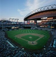 野球観戦 01184090291| 写真素材・ストックフォト・画像・イラスト素材|アマナイメージズ