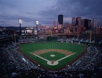 野球観戦 01184090299| 写真素材・ストックフォト・画像・イラスト素材|アマナイメージズ
