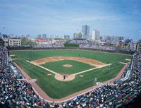 野球観戦 01184090307| 写真素材・ストックフォト・画像・イラスト素材|アマナイメージズ