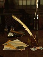 古切手とコインのイメージ