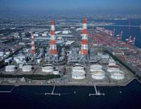 中部電力西名古屋火力発電所  愛知県