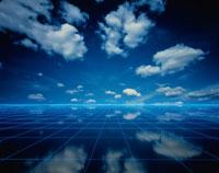 天空 雲のCG