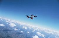 スカイダイビング 01281000881| 写真素材・ストックフォト・画像・イラスト素材|アマナイメージズ