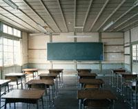 古い学校の教室