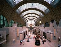 オルセー美術館内部 パリ フランス