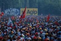 GPの観客 モンツァ イタリア