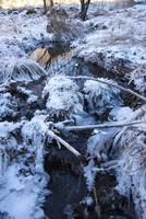 霧ヶ峰高原イモリ沢の氷柱