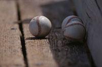 3個の野球のボール