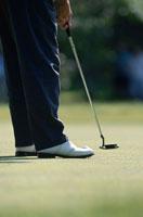 ゴルフをする人   ニューヨーク アメリカ
