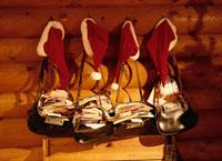 サンタの配達鞄   ロバニエミ フィンランド