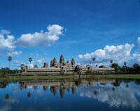 アンコールワット西面全景  カンボジア