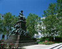 ベートーベン像  ウィーン オーストリア
