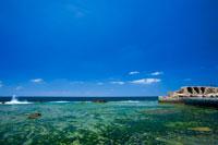 アッコ旧港と地中海