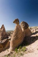 カッパドキアのゼルヴェの奇岩群