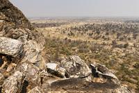 ツォディロ・ヒルズからカラハリ砂漠眺望