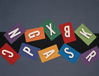 アルファベット遊び