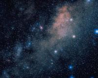 イテ座と銀河 オーストラリア