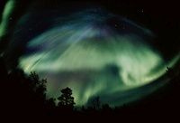 Northern lights, Aurora Borealis, Scandinavia