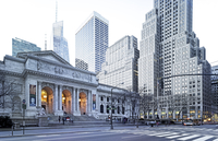 New York Public Library, 5th Avenue, Manhattan, New York City, New York, North America, USA, (published in New York City, Kunth