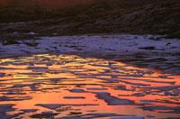 MIDNIGHT SUNSET, MANITOBA, CANADA