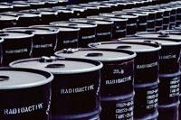 放射性廃棄物のドラム缶
