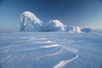 エルズミア島の流氷
