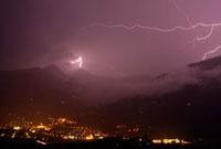 Lightning over Matrei,Hohe Tauern National Park,Austria