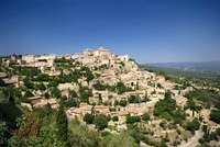 Mountain village, Provence, France