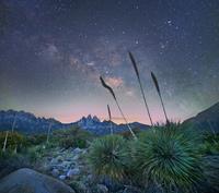 アガペと夜空