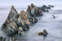 ボツフィヨール沿岸の堆積岩