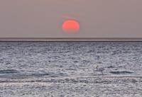 海に沈む夕日 01543049594| 写真素材・ストックフォト・画像・イラスト素材|アマナイメージズ