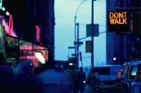 歩道についた信号機 NY アメリカ 01576013544| 写真素材・ストックフォト・画像・イラスト素材|アマナイメージズ