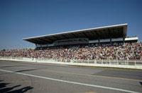 レース場の観客席 鈴鹿 三重県