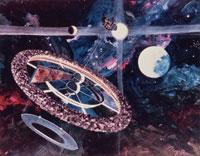 宇宙ステーションイメージ