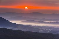 朝の蒜山高原